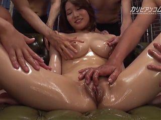 Mikuni Maisaki DYNAMITE Sex Party 2 - More at caribbeancom