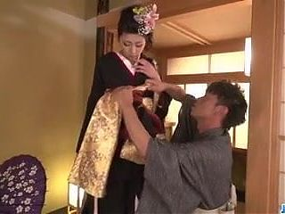 Yuna Shiratori spreads legs for a big - More at javhd.net