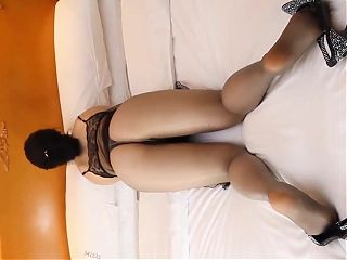 pantyhose butt 7