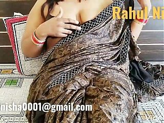 Nisha Playing with Boobs (Rahul Nisha)