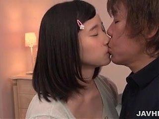 Yiung Saori Maeda enjoys cock in all her holes